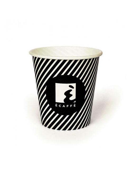 Ecaffe - Картонена чаша 100 ml, 60 бр.
