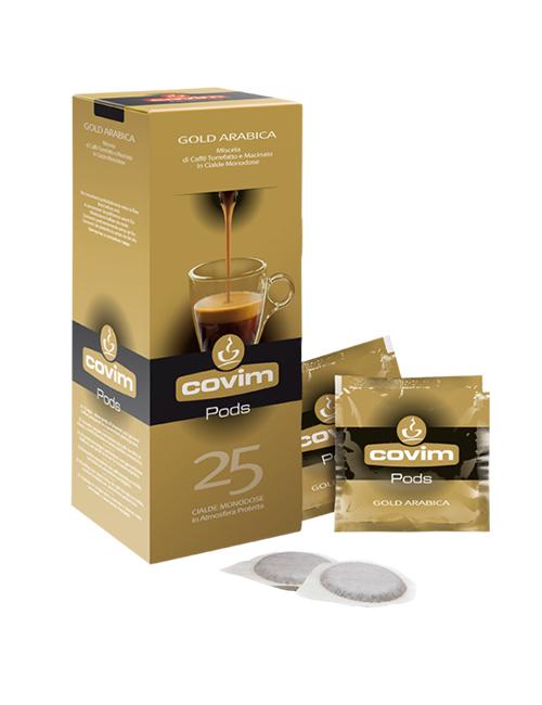 COVIM GOLD ARABICA филтърни дози кафе 25 БР./КУТИЯ