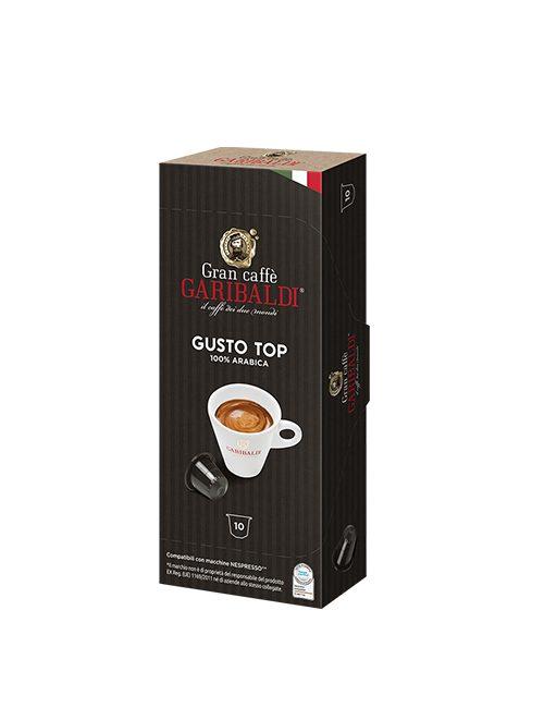 Капсули GARIBALDI GUSTO TOP – NESPRESSO 10бр./кутия