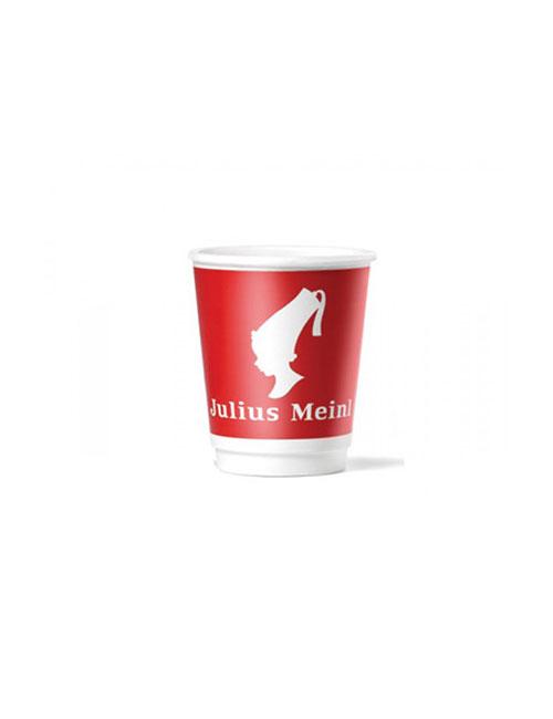 Julius Meinl - Картонена капучино чаша - 200мл., 100 бр.