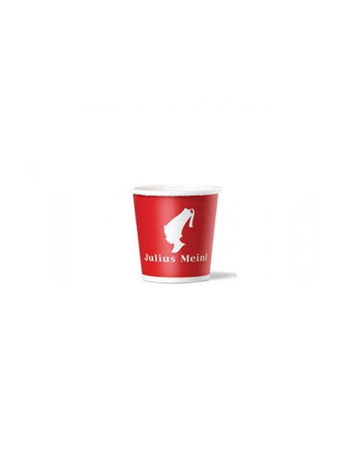 Julius Meinl - Картонена еспресо чаша 118мл, 100 бр.