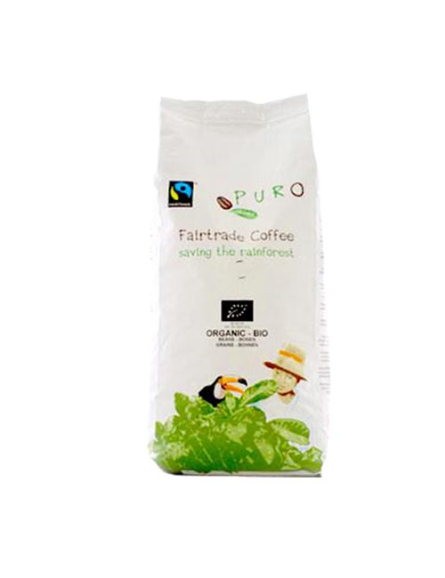 Кафе на зърна PURO BIO-ORGANIC – 1КГ.