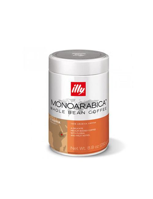 Кафе на зърна Illy Monoarabica Ethiopia  250 гр.