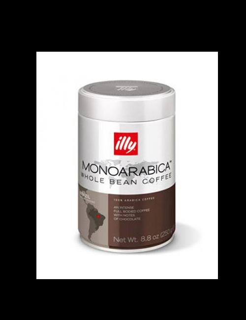Кафе на зърна Illy Monoarabica Brazil  250 гр.