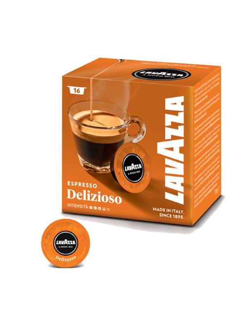 Капсули кафе Lavazza Delisiozo A modo mio 16 бр.