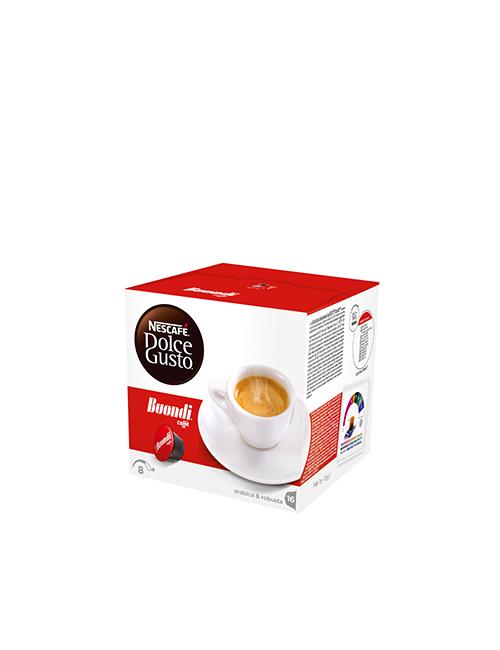 NESCAFÉ Dolce Gusto Buondi кафе капсули, 16 напитки.