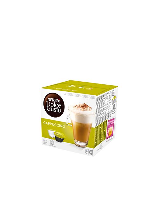 NESCAFÉ Dolce Gusto Cappuccino кафе капсули, 8 напитки.