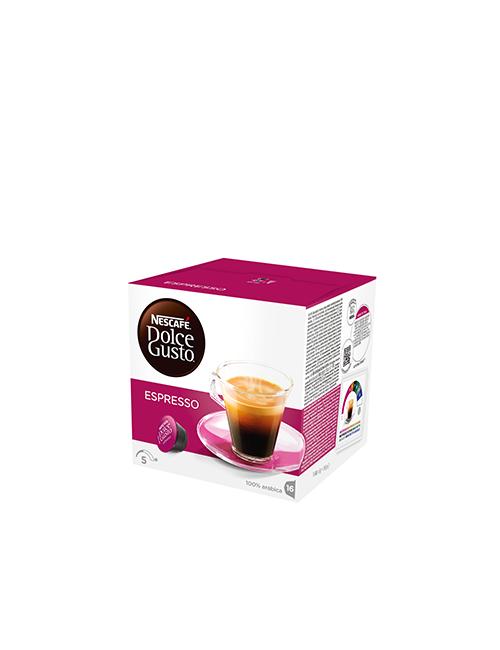 NESCAFÉ Dolce Gusto Espresso кафе капсули, 16 напитки.