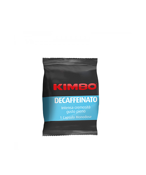 Капсули кафе Kimbo Espresso Decaffeinato – Espreso point