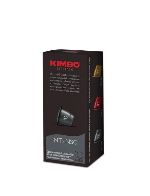 Кафе на капсули KIMBO INTENSO Nespresso – 10бр./кутия