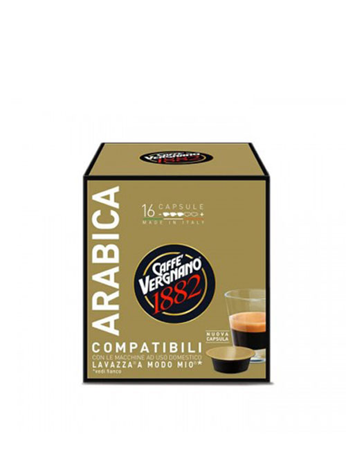 Капсули кафе Vergnano Arabica A MODO MIO 16 бр.