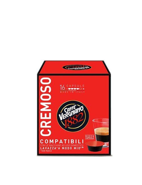 Капсули кафе Vergnano Cremoso A MODO MIO 16 бр.