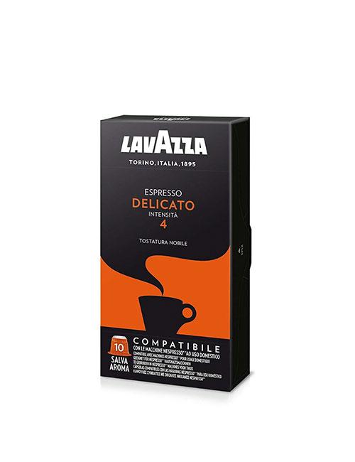 Кафе на капсули Lavazza Delicato – Nespresso 10 брoя
