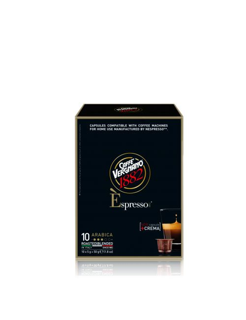Кафе на капсули Vergnano Espresso Arabica Nespresso – 10бр./кутия