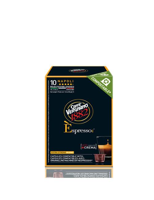 Кафе на капсули Vergnano Espresso Napoli Nespresso – 10бр./кутия