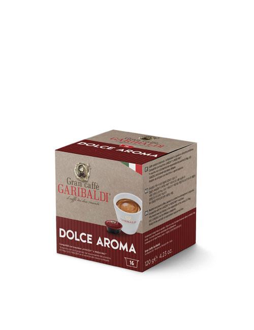Капсули кафе GARIBALDI DOLCE AROMA – A MODO MIO