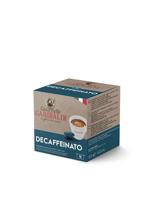 Капсули кафе GARIBALDI DECAFFEINATO – A MODO MIO