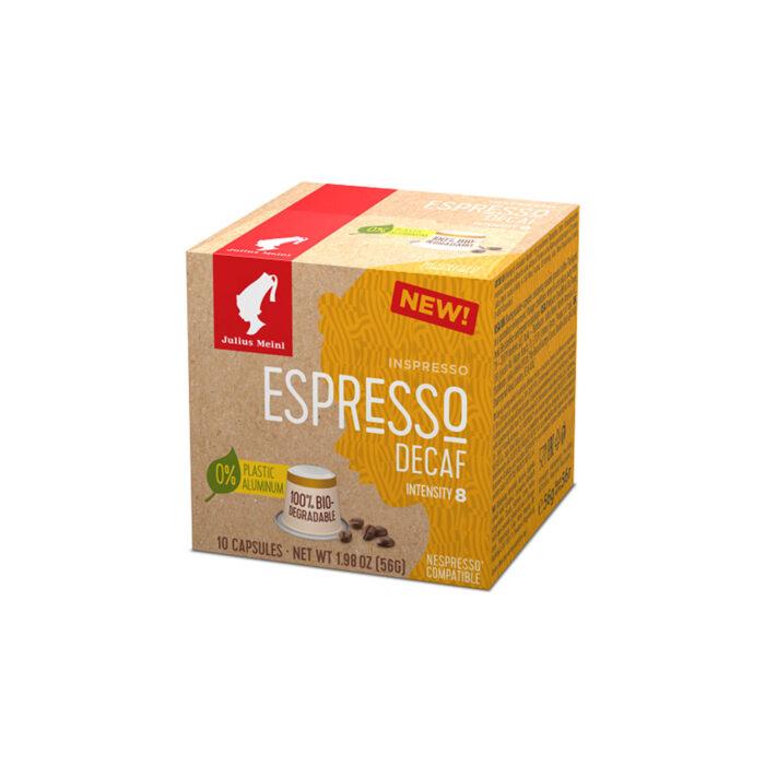 Кафе на капсули Julius Meinl Inspresso Decaf- Nespresso - 10 брoя