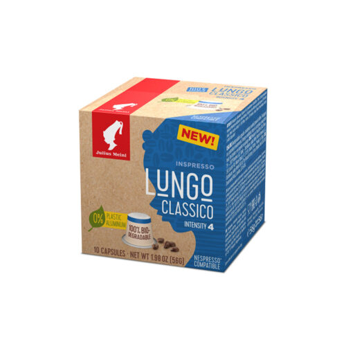 Кафе на капсули Julius Meinl Inspresso Lungo Classico- Nespresso - 10 брoя