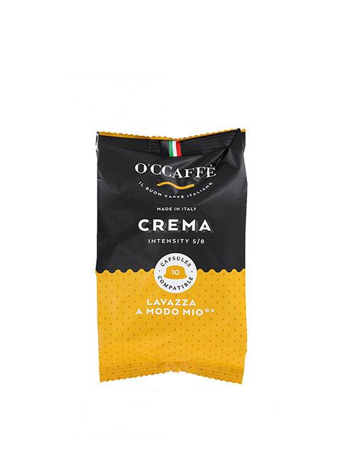 Кафе капсули O'CCAFFE Crema – A MODO MIO – 10 броя в кутия