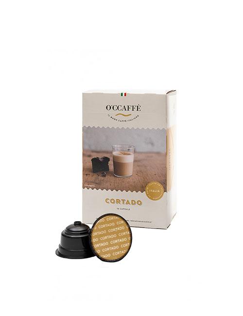 Кафе на капсули O'CCAFFE Cortado - Dolce Gusto 16 бр.
