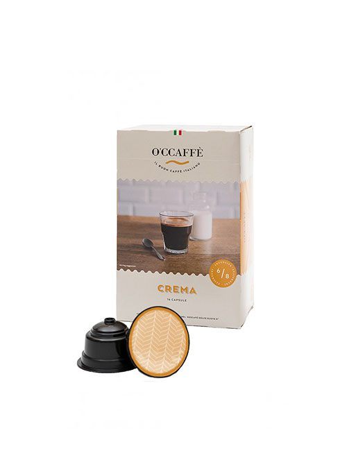 Кафе на капсули O'CCAFFE Crema  - Dolce Gusto 16 бр.