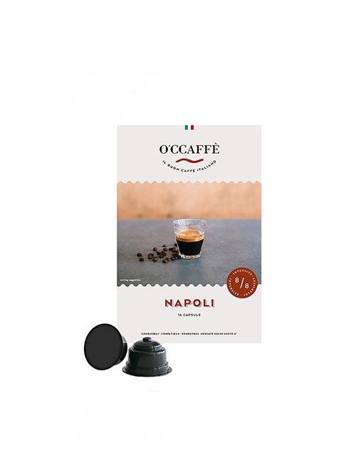 Кафе на капсули O'CCAFFE Napoli  - Dolce Gusto 16 бр.