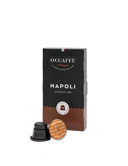Кафе на капсули O'CCAFFE Napoli – nespresso 10бр./кутия