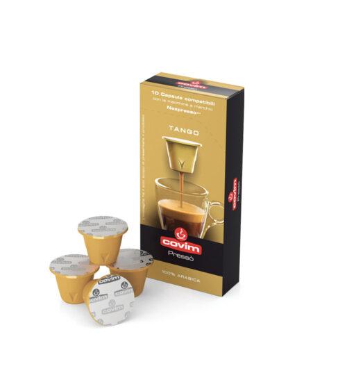 Covim Tango (gold arabica) Кафе на капсули -  nespresso 10бр./кутия