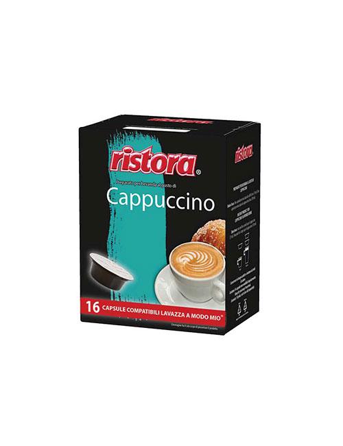 """Капсули кафе RISTORA """" CAPPUCCINO """" - A modo mio 16 бр."""
