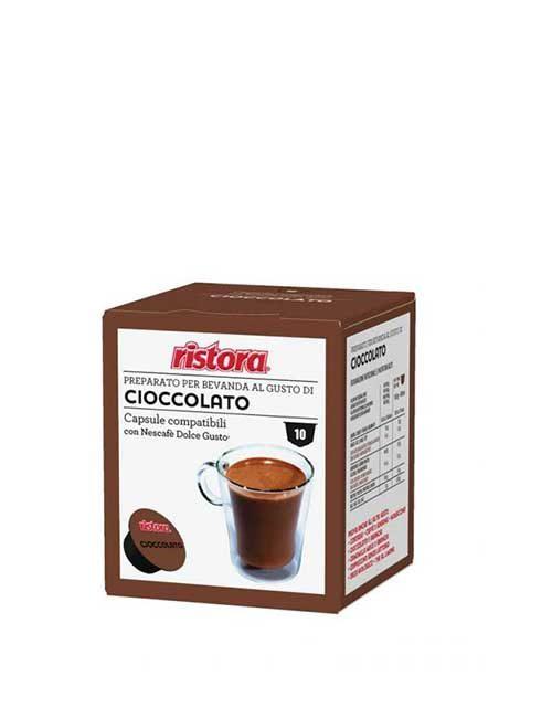 "RISTORA "" CHOCOLATE "" – DOLCE GUSTO – 10 броя"