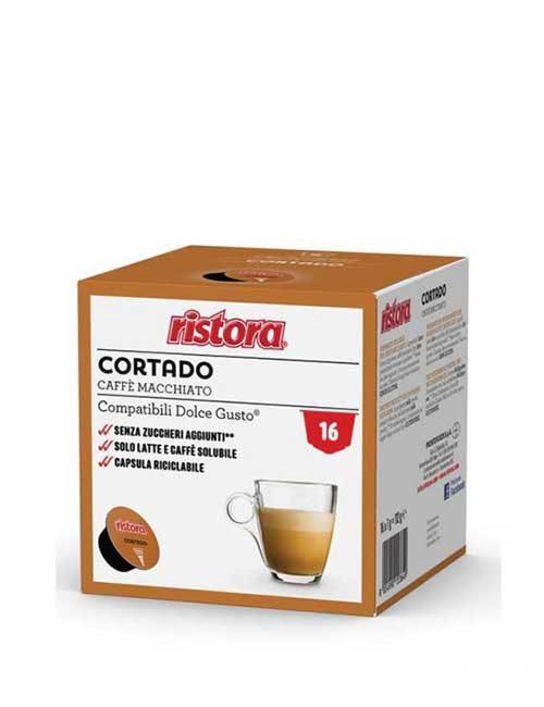 "Кафе RISTORA "" CORTADO "" – DOLCE GUSTO – 16 броя"