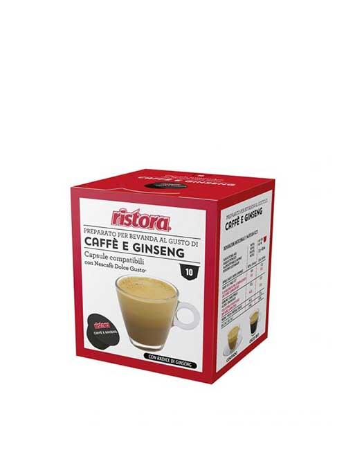 """Кафе RISTORA """" CAFFE E GINSENG """" – DOLCE GUSTO – 10 броя"""