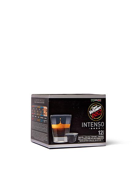 Кафе капсули Caffe Vergnano 1882 Intenso Dolce Gusto, 12 бр.