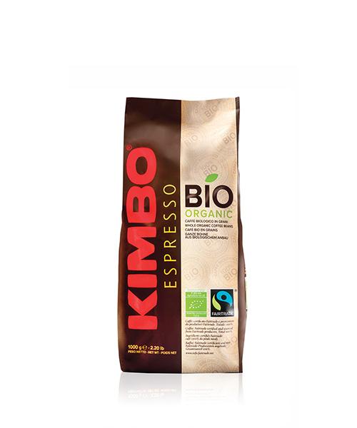 Кафе на зърна KIMBO BIO 100% 1кг.