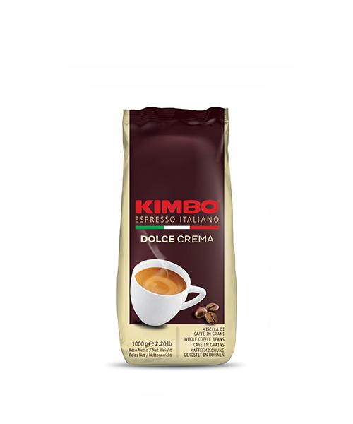Кафе на зърна KIMBO DOLCE CREMA 1кг.