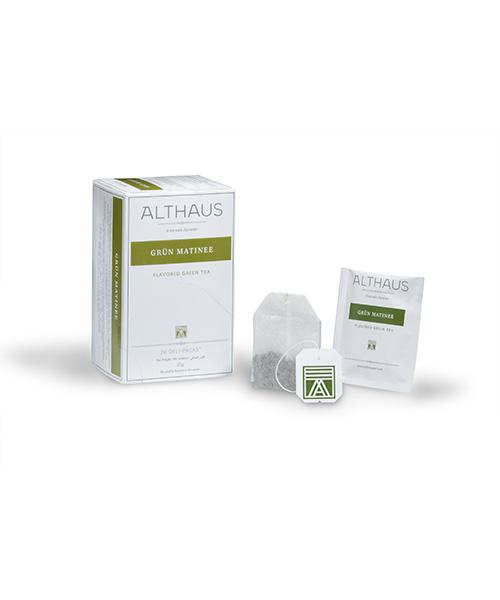 Althaus Tea Grün Matinee 20 бр. х 1,75г/ кутия