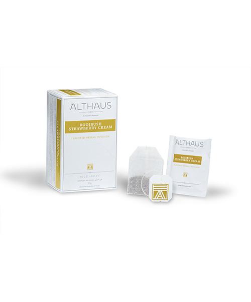 Althaus Tea Rooibush Strawberry Cream 20 бр. х 1,75г/ кутия