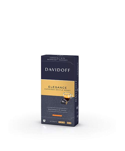 Кафе капсули Davidoff Elegance -Nespresso 10бр.