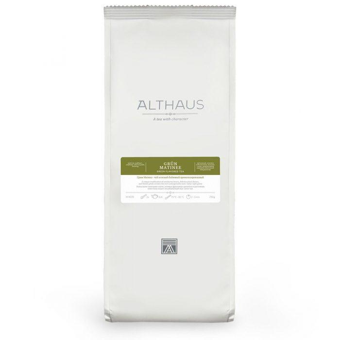 Althaus Tea Grün Matinee 250г пакет