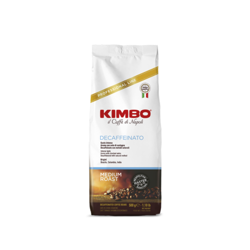 Кафе на зърна KIMBO ESPRESSO DECAFF 500г.