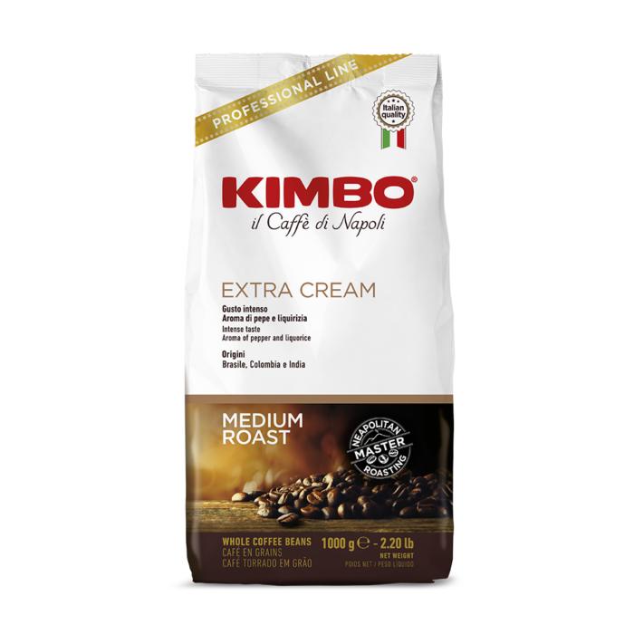 Кафе на зърна KIMBO EXTRA CREAM 1кг.