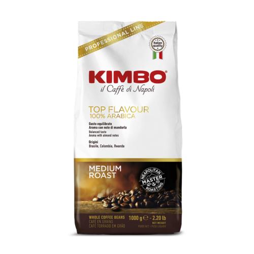 Кафе на зърна KIMBO TOP FLAVOUR 1кг.