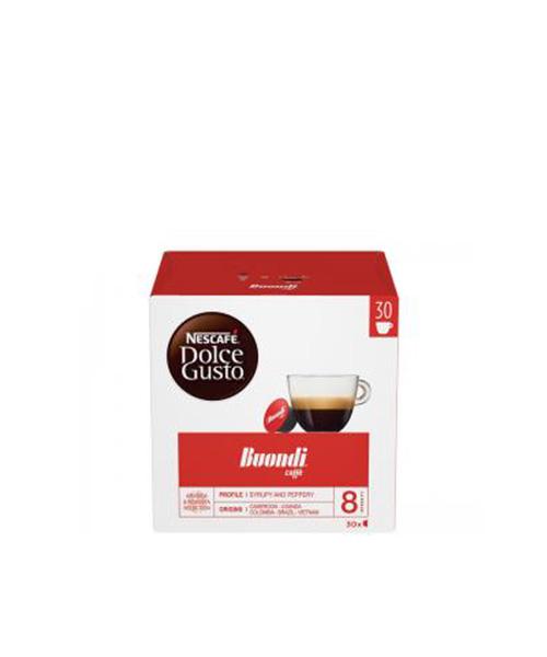 NESCAFÉ Dolce Gusto Buondi кафе капсули, 30напитки