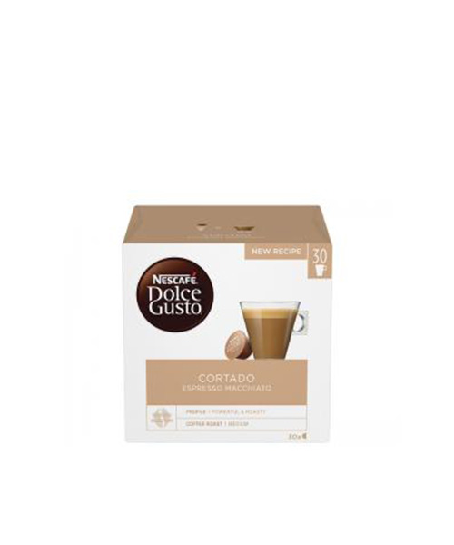 NESCAFÉ Dolce Gusto Cortado Espresso Macchiato кафе капсули,30напитки