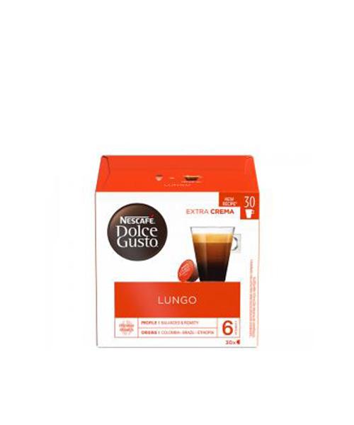 NESCAFÉ Dolce Gusto Lungo кафе капсули, 30 напитки