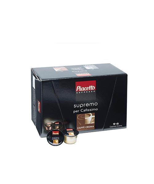 Кафе капсули Piacetto supremo Caffè Crema 96 бр.