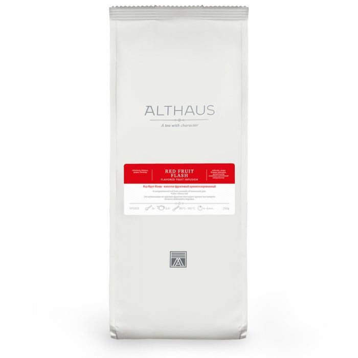 Althaus Tea Red Fruit Flash 250г пакет