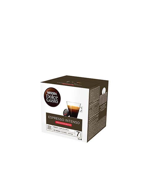 NESCAFÉ Dolce Gusto Espresso Intenso Decaffeinato - 16 напитки