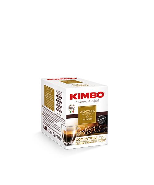 Кафе на капсули Kimbo Armonia 100% Arabica Amodo mio-10 бр
